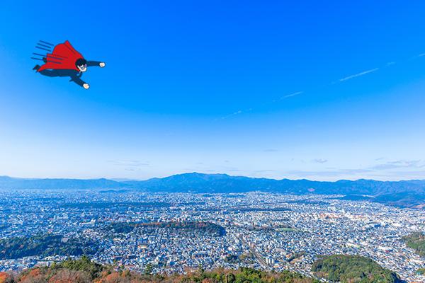 京都市・北区・上京区・中京区・下京区の空撮