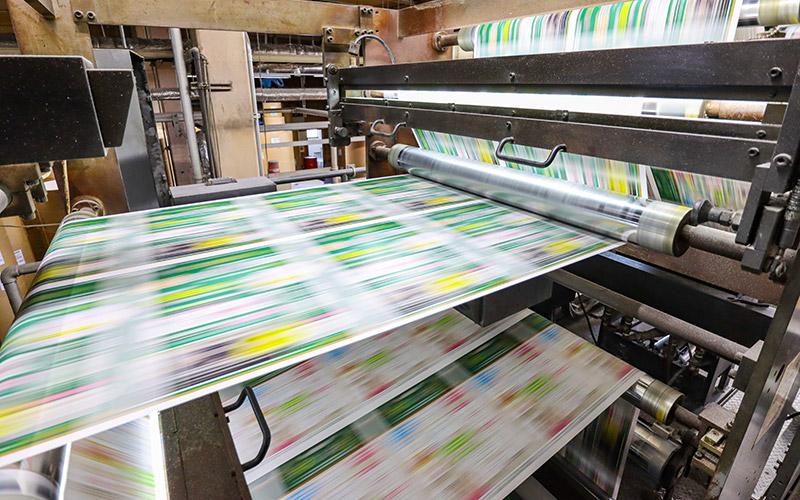 特急印刷のチラシ印刷